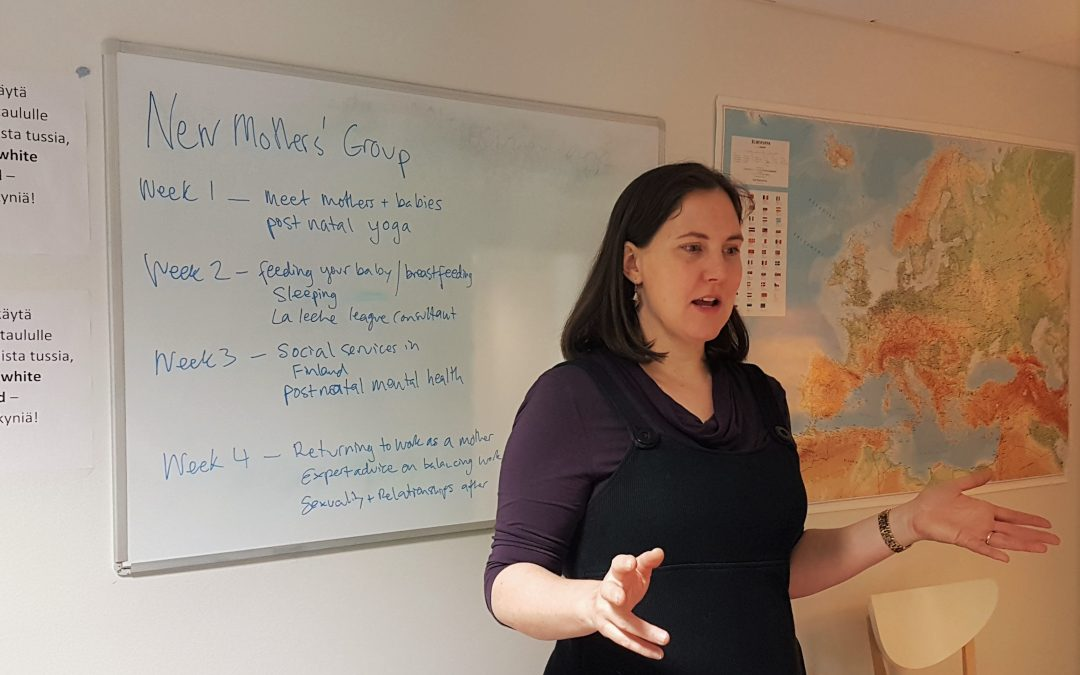 New Mothers' Group gets started!